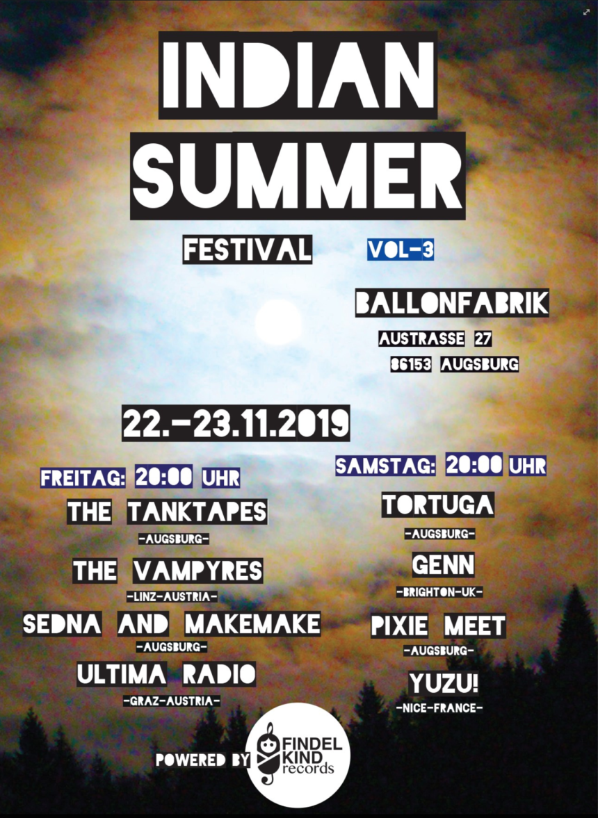 Indian Summer Indoor Festival Vol. 3